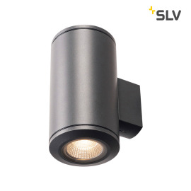 Slv Pole Parc Updown Outdoor Led Wandleuchte Anthrazit Garten