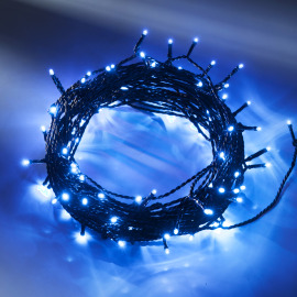 Konstsmide LED Fairy Light, blue, 16m, 40 LEDs