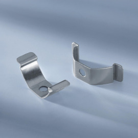 Holder for aluminum profiles