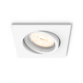 Philips myLiving LED-Downlight Donegal eckig weiß