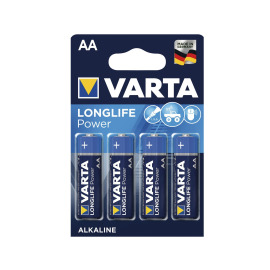 VARTA 4906 Longlife Power Batteries AA Pack of 4