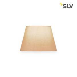 SLV Fenda Lampshade, Conical, D/H 30/20 cm, beige