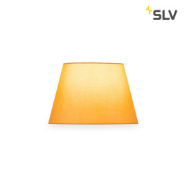 SLV Fenda Lampshade, Conical, D/H 30/20 cm, yellow