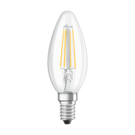 Osram LED RETROFIT CLASSIC B 37 4W 827 E14 CL