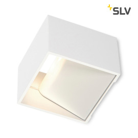 SLV Logs In LED wall light white