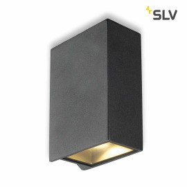 SLV QUAD 2 XL wall light anthracide