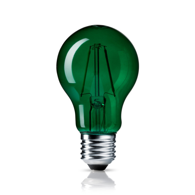 Osram LED SUPERSTAR CLA 15 DécorGreen non-dim  4W 827 E27