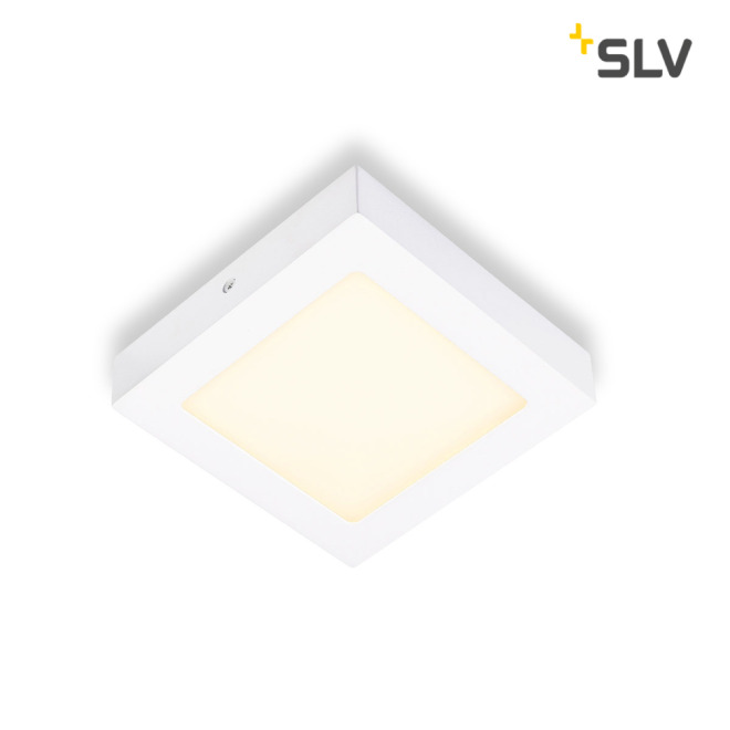 SLV SENSER LED PANEL square white 10W