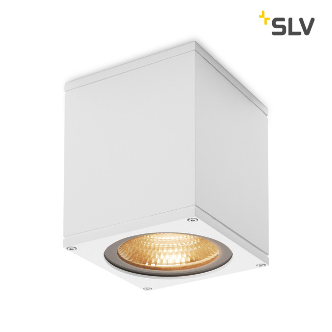 SLV Big Theo Outdoor LED-Wandleuchte weiß