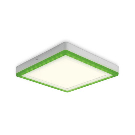 Osram LED-Deckenleuchte Color + White Square 40cm 42W