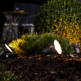 Osram ENDURA GARDEN SPOT 4 LIGHTS PC grey