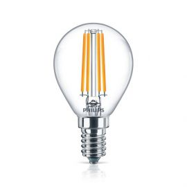 Philips Classic LEDluster 6,5-60W E14 827 P45 clair
