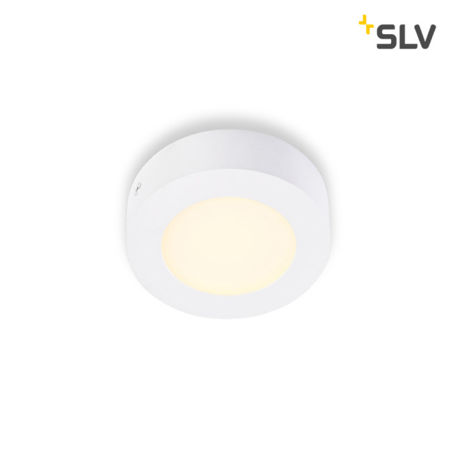 SLV SENSER LED PANEL rond blanc 6W