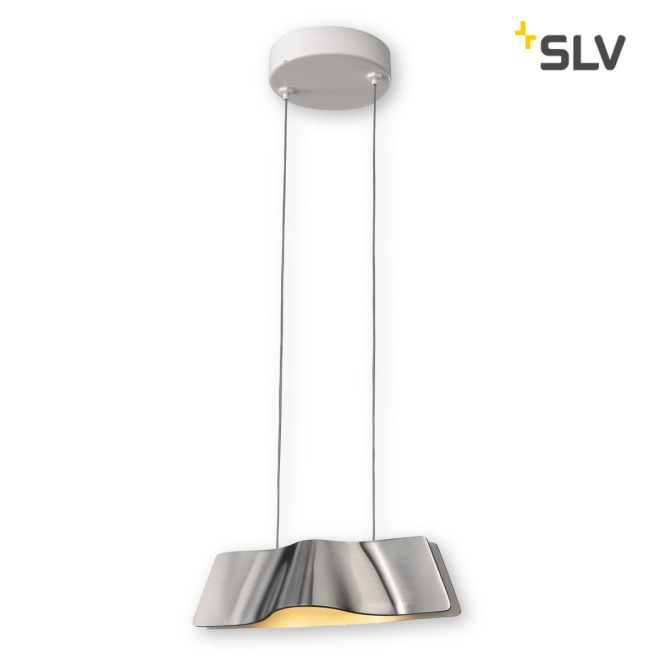 SLV WAVE PENDANT pendant light aluminum/white