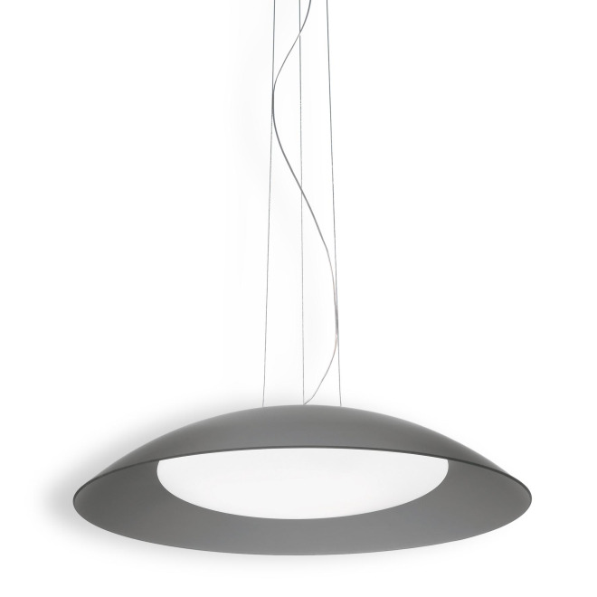 Ideal Lux LENA SP3 D64 GRIGIO lampe suspendue