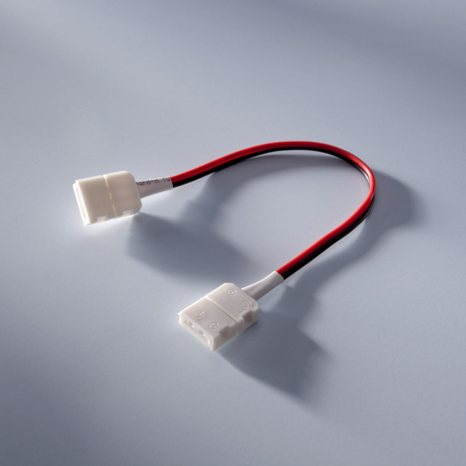 Connector with cable for LumiFlex LED strips, 14cm