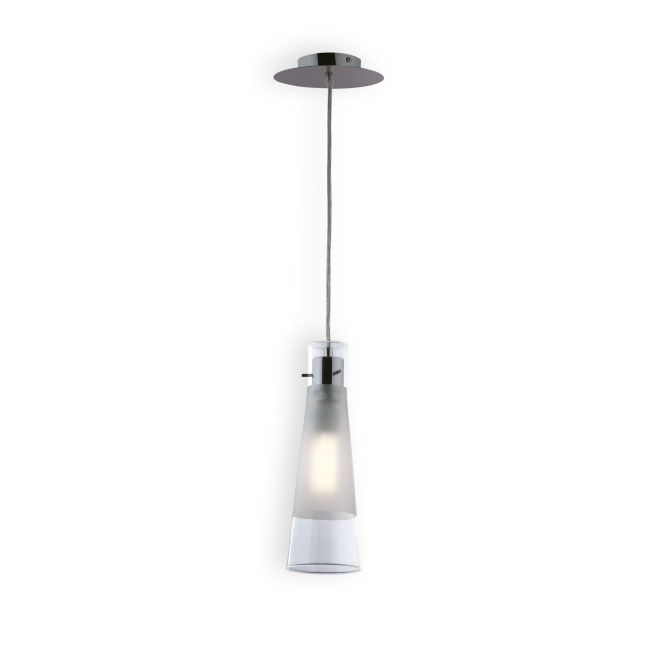 Ideal Lux KUKY CLEAR SP1 lampe suspendue