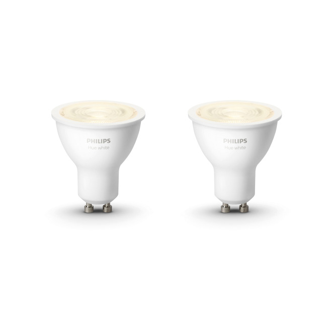 Philips Hue White LED-Spot GU10 Doppelpack