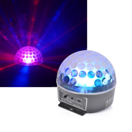 BeamZ Magic Jelly DJ LED Ball Sound MC