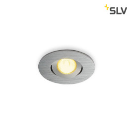 SLV NEW TRIA MINI DL ROUND SET Downlight alu-brushed