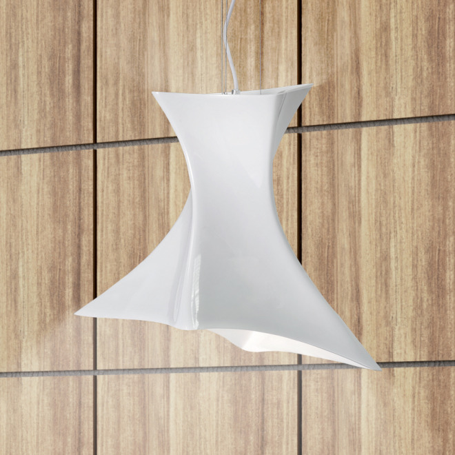 Mantra pendant light TWIST 1L white