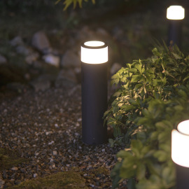 Philips Hue White and Color Ambiance Calla LED-Sockelleuchte, Schwarz, Erweiterung