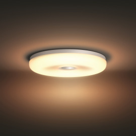 Philips Hue Struana LED ceiling light white with dimmer switch