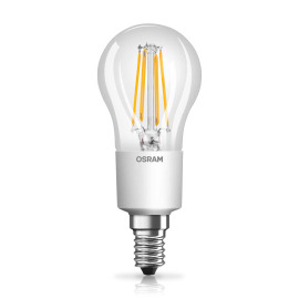 Osram LED STAR+ GLOWdim FIL CLP 40 4,5W E14