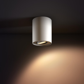 Philips Hue White Ambiance Pillar Spot à LED blanc, 350lm