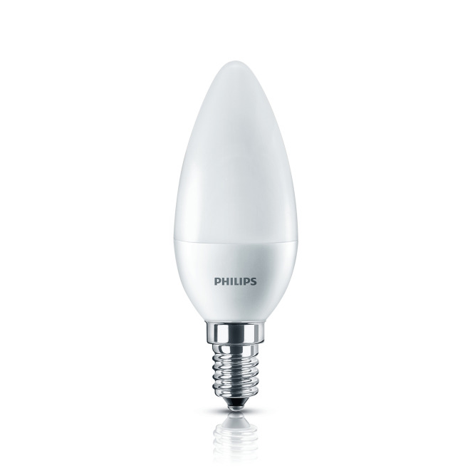 Philips CorePro LEDcandle 7-60W 827 E14 B38 matt