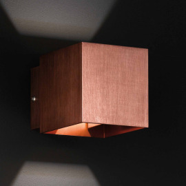 Honsel wall light, copper