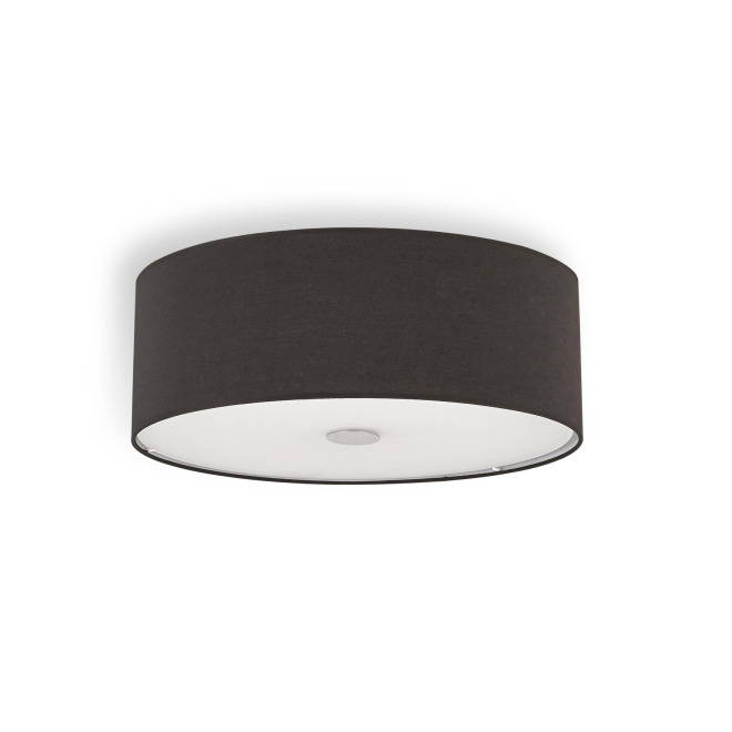Ideal Lux WOODY PL4 NERO plafonnier