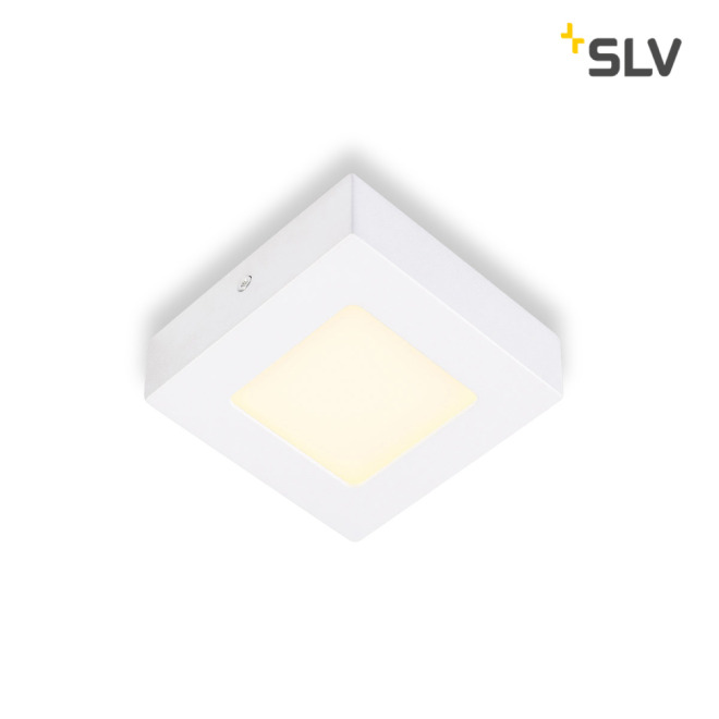 SLV SENSER LED PANEL square white 6W