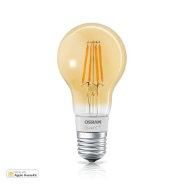 Osram SMART+ APPLE HOME KIT FIL A60 E27 DIM Amber Coating