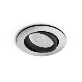 Philips Hue White & Color Ambiance Centura Recessed LED Spot round aluminium