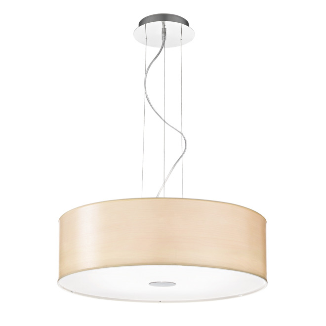 Ideal Lux WOODY SP4 WOOD pendant light
