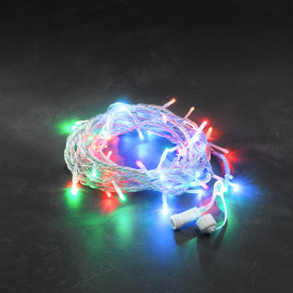 Konstsmide LED System 24V - Multi-Coloured Chain of Light, 50 LEDs