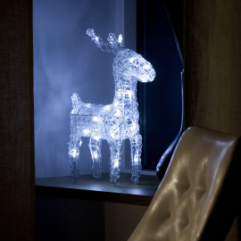 Konstsmide LED figure (deer) with white LEDs