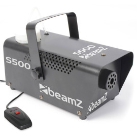 BeamZ S500 Smoke Machine incl 250ml fluid