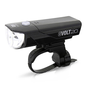 Cateye GVOLT 20 RC HL-EL350GRC LED bike front light