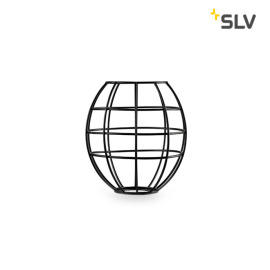 SLV Fenda Lampshade, Mesh Shade, D/H 17.5/18.5 cm, matt black