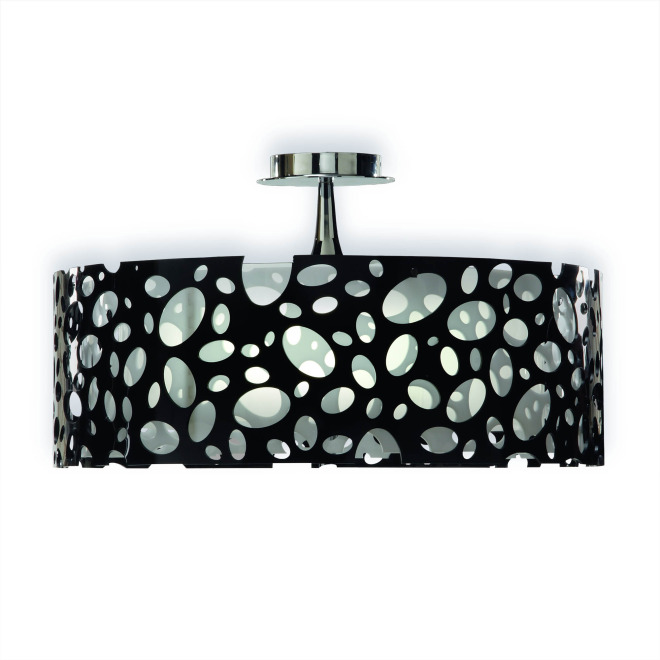 Mantra ceiling light MOON WHITE AND BLACK 4L BIG