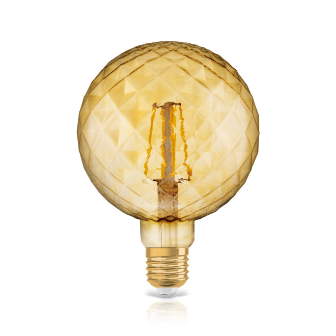 Osram LED VINTAGE 1906 CL PINECONE GOLD40 non-dim 4,5W 825 E27