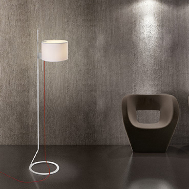 Steng Floor Lamp LOFT SMALL white