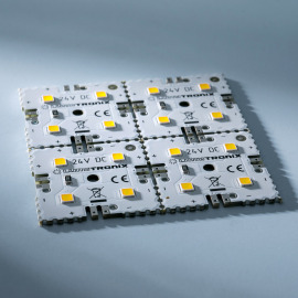 LED MiniMatrix, neutral white (4000K), 300lm, 16 LEDs, 6x6cm, 24V