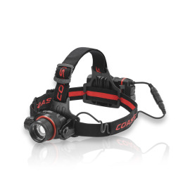 Coast HL8R focusable LED headlamp with micro-USB connector