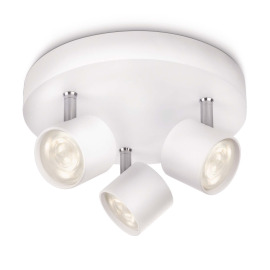 Philips myLiving Star Spot 3-flames white