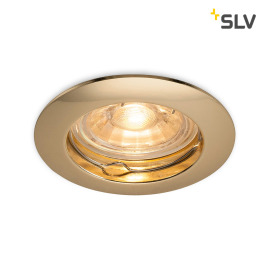 SLV Pika Downlight GU10 6cm messing
