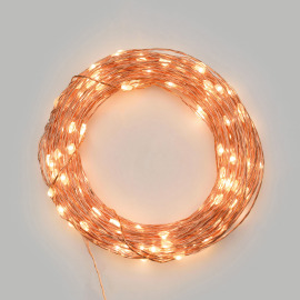 Lotti LED Micro Light Chain, 20 warm white LEDs, Battery Operated