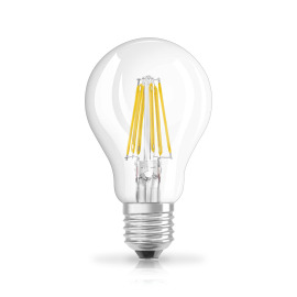 Osram LED RETROFIT A75 8W E27 clear non dim